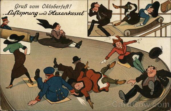 """Gruss vom Oktoberfest! """"Luftsprung und Hexenkessel"""""""
