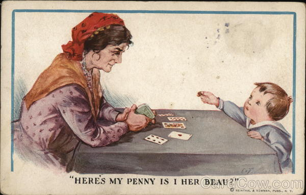 Fortune Teller with Boy Charles Twelvetrees Comic, Funny
