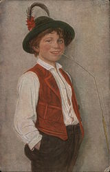 "Child with Straw ""The village prince"""