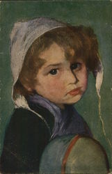 A portrait of a child