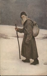Portrait of a Old Man, Winter