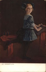 Painting of a Young Girl