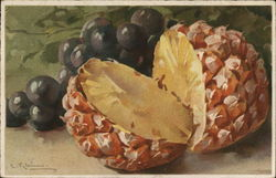 Pineapple and Grapes