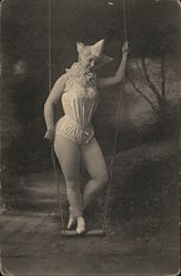 Woman French Circus Performer