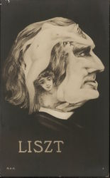 Liszt Profile, Comprised of Nude Women