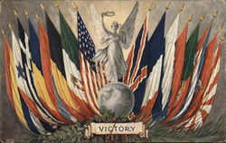 Victory - Allied Flags 1918