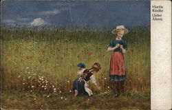 Unter Ahren - Girls Picking Wildflowers