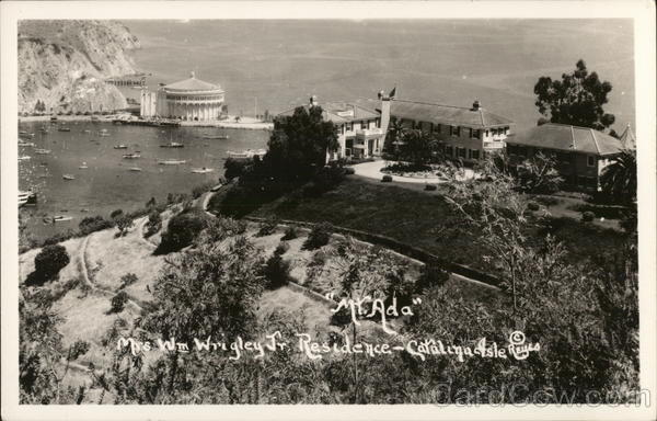 Mount Ada - Mrs. Wm. Wrigley Jr. Residence Santa Catalina Island California