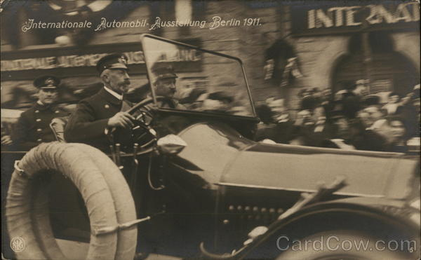 Internationale Automobil-Ausstellung 1911 Berlin Germany
