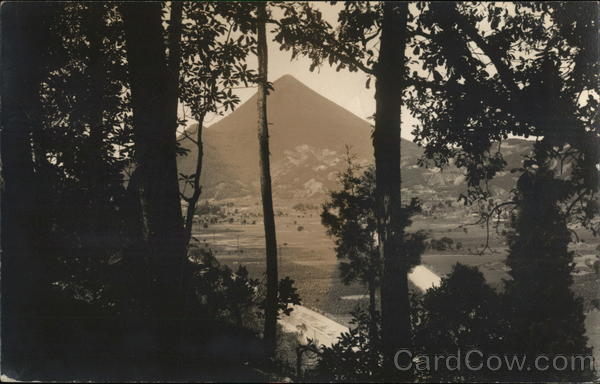 View of Mountain Guatemala Central America