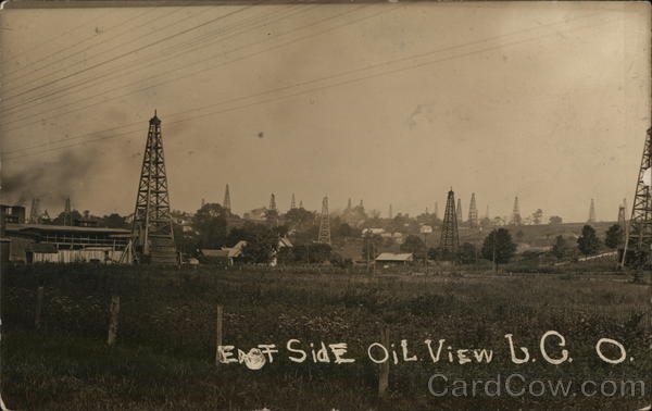 East Side Oil View Oil Wells
