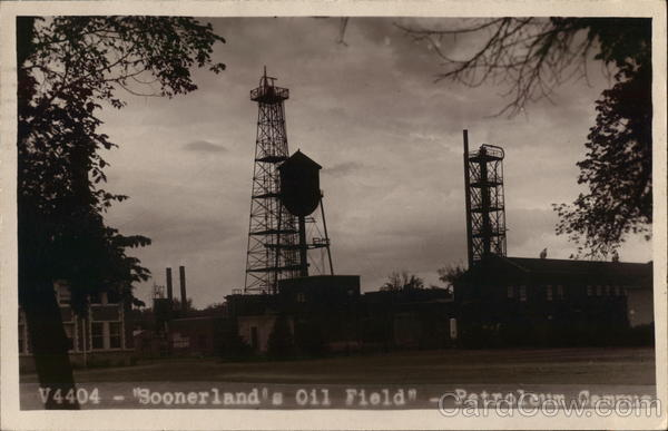 Soonerland's Oil Field - Petroleum Campus Norman Oklahoma
