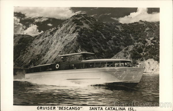 Cruiser Descanso Santa Catalina Island California