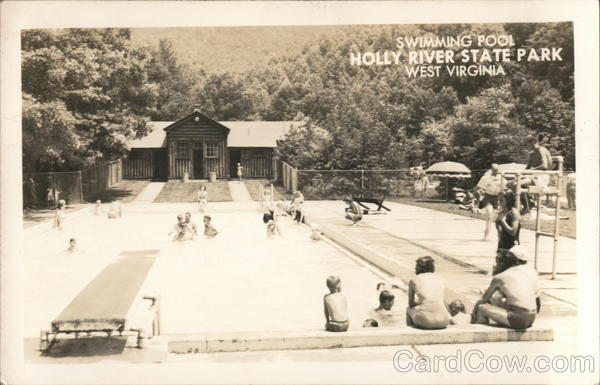 Swimming Pool Holly River State Park West Virginia Hacker Valley