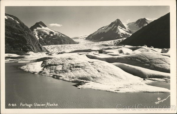 Portage Glacier Anchorage Alaska