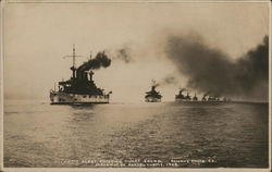 Atlantic Fleet Entering Puget Sound