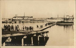 A Scene at the Dock