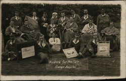 Workers for the Fete, Grange Military Hospital