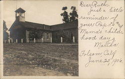 School or Church Postcard