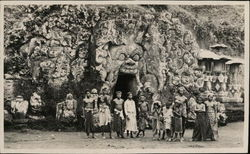 Goa Gajah, the Elephant Cave and Locals