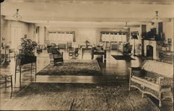 Hotel Interior, Wicker Furniture