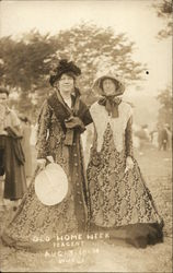 Women at Old Home Week Pageant Aug. 3-10-1914
