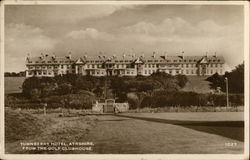 Turnberry Hotel From the Golf Clubhouse