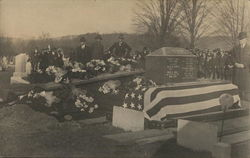 1918 Military Funeral for Fred H. Hall 107th Infantry