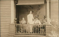 Family on Porch, Rutger Street
