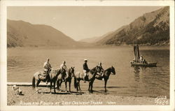 Riding and Fishing at Singer's Lake Crescent Tavern