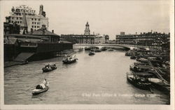 Shanghai Post Office and Soochow Creek Postcard