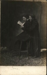 Snapshot of Two Women Reading