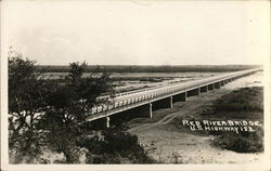 Red River Bridge, U.S. Highway 183 at State Line