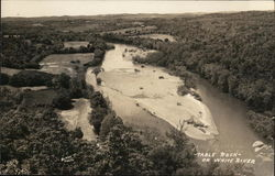 Table Rock on White River Postcard