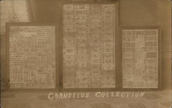 Cornelius Collection Display of Stamps and Paper Bills