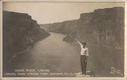 Snake River Canyon from Shoshone Falls