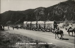 H.C. Lewis Ore Wagons