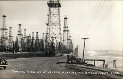 Partial View of Oilfield
