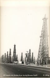 Oil Wells on Ocean Ave
