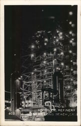Union Oil Refinery Postcard
