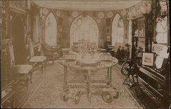 View of Parlor Postcard