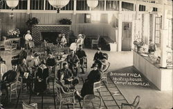 YWCA. Hostess House Camp Fremont (now MacArthur Park) Interior