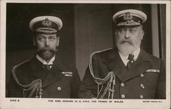 H.M. King Edward VII & H.R.H. The Prince of Wales