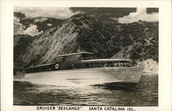 "Cruiser ""Descanso"" Postcard"