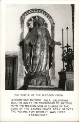 Statue of the Blessed Virgin, Mission San Antonio