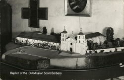 Replica of the Old Mission Santa Barbara