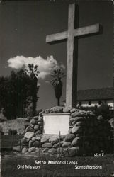 Serra Memorial Cross, Old Mission