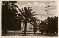 San Gabriel Mission, Founded 1771