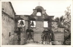 The Bell Tower of San Gabriel Mission