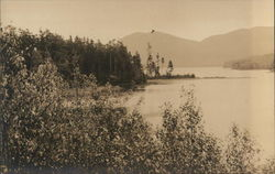 Great Pond and Western Mountain Postcard